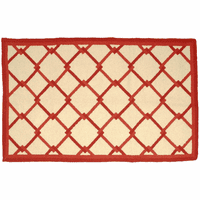 Leeward Red Rug Collection