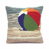 Life's a Beach Sand Indoor/Outdoor Pillow