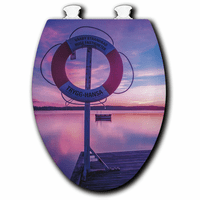 Life Saver Sunset Toilet Seats