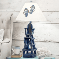 Lifeguard on Duty Table Lamp