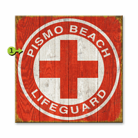 Lifeguard Personalized Sign - 28 x 28