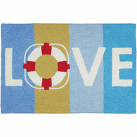 Lifesaving Love Indoor/Outdoor Rug