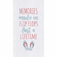 Lifetime Memories Flour Sack Towels - Set of 6