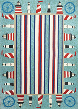 Lighthouse Brigade Rug Collection