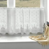 Lighthouse Lace Window Tier - 60 x 24 - OVERSTOCK