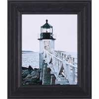 Lighthouse Views I Framed Print