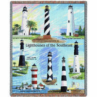 Lighthouses of the Southeast Blanket
