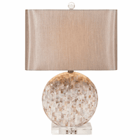 Lilia Mother of Pearl Lamp