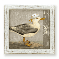 Little Seagull II Framed Art