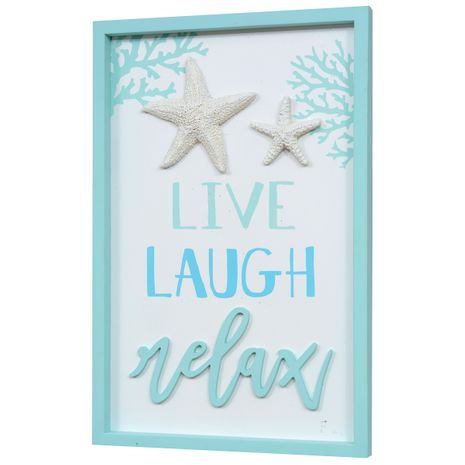 Live Laugh Relax Wood Wall Art