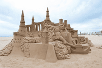 Living the Dream as a Professional Sand Sculptor