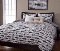 Lobster Bay Sand Duvet Set - Queen