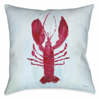 Lobster Life 18 x 18 Outdoor Pillow
