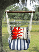 Lobster Marina Stripe Swing Set