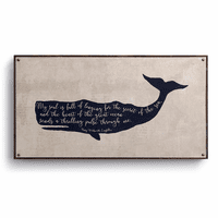 Longfellow Whale Canvas Wall Art
