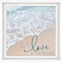 Love & the Beach Wall Art