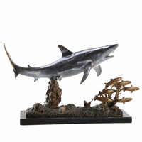 Lunchtime Shark Sculpture