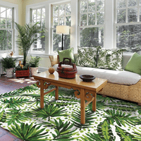 Lush Leaves Rug Collection