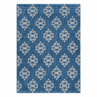 Lyra Indigo Indoor/Outdoor Rug Collection