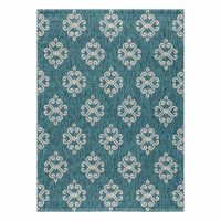 Lyra Teal Indoor/Outdoor Rug Collection