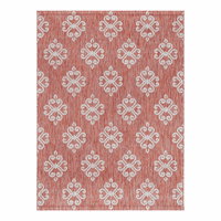 Lyra Terra Cotta Indoor/Outdoor Rug Collection