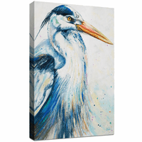 Majestic Heron Canvas Art
