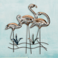 Making Waves Flamingo Wall Art