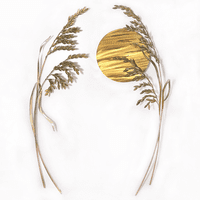 Malaysian Sea Oats Metal Wall Art