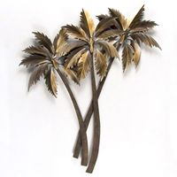 Malibu Palms Metal Wall Art