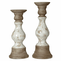 Malta Candleholders - Set of 2