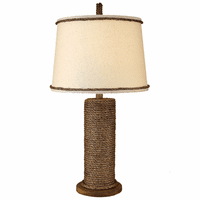 Manila Rope Spindle Table Lamp