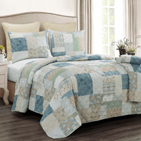 Marias Coastal Reef Quilted Throw