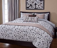 Marina Sand Duvet Set - Cal King