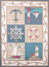 Maritime Coast Blue Rug Collection