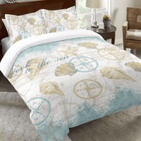 Maritime Melody Duvet Cover - King