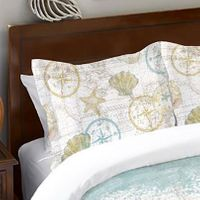 Maritime Melody Sham - OVERSTOCK