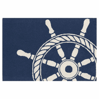 Maritime Ship Wheel Rug Collection
