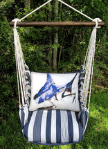 Marlin Marina Stripe Swing Set