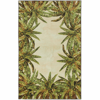 Marquesas Palm Border Rug Collection