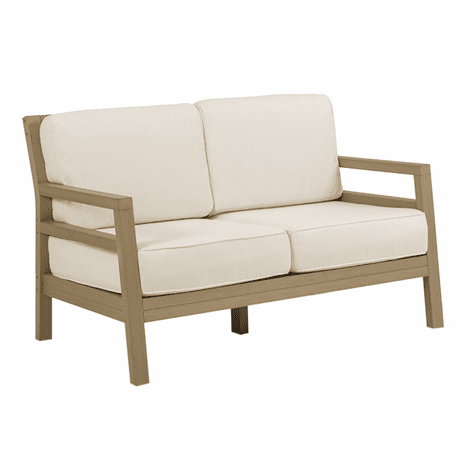 Maui Loveseat - Weathered Teak Finish