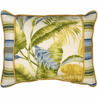 Mazatlán Banded Breakfast Pillow