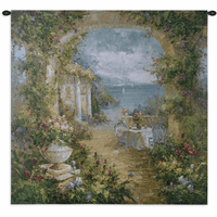 Mediterranean Arches II Small Wall Tapestry
