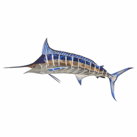 Mega Marlin Wall Art