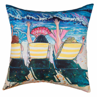 Mermaid Chairs HD Indoor/Outdoor Pillow