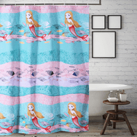 Mermaid Daydreams Shower Curtain
