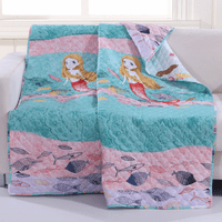 Mermaid Daydreams Throw