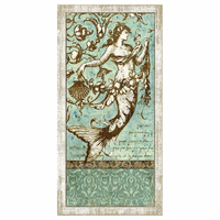 Mermaid Elegance 2 Wall Art