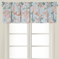 Mermaid Escape Valance - Set of 2