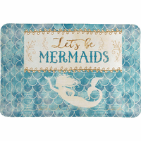Mermaid Friends Memory Foam Rug