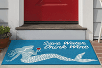 Mermaid Lessons Indoor/Outdoor Rug Collection
